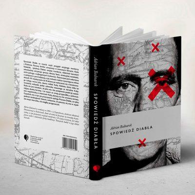 """Projekt okładki do książki """"Spowiedź diabła"""""""